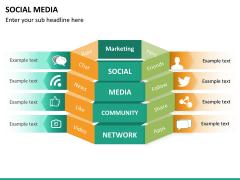 Social media PPT slide 23