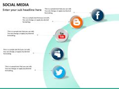 Social media PPT slide 24