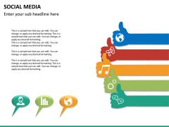 Social media PPT slide 25