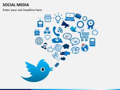 Social media PPT slide 1