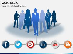 Social media PPT slide 10