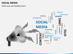 Social media PPT slide 12