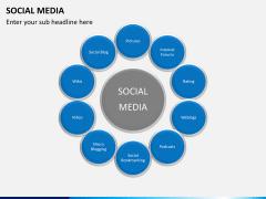 Social media PPT slide 14