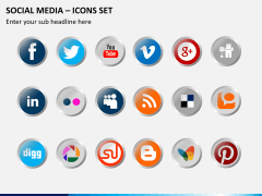 Social media PPT slide 19