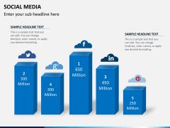 Social media PPT slide 2