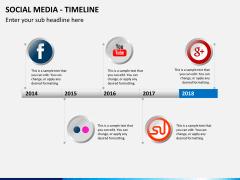 Social media PPT slide 3