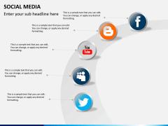 Social media PPT slide 5