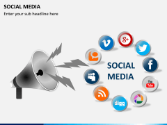 Social media PPT slide 8