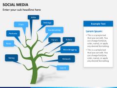 Social media PPT slide 9