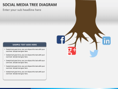 Social media tree PPT slide 8
