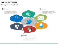 Social network PPT slide 20