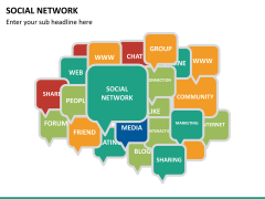 Social network PPT slide 12