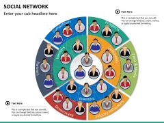 Social network PPT slide 15