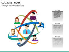 Social network PPT slide 16