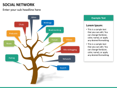 Social network PPT slide 17