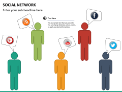 Social network PPT slide 19
