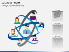 Social network PPT slide 6