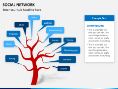 Social network PPT slide 7