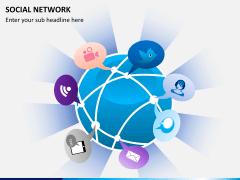 Social network PPT slide 8