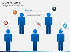 Social network PPT slide 9