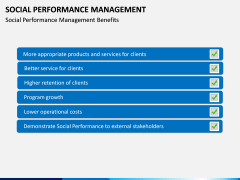 Social Performance Management PPT slide 5