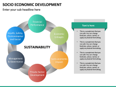 Socio economic development PPT slide 22
