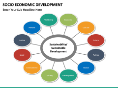Socio economic development PPT slide 14