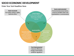 Socio economic development PPT slide 15