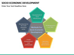 Socio economic development PPT slide 16