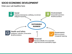 Socio economic development PPT slide 20