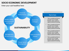Socio economic development PPT slide 10