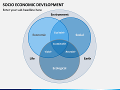 Socio economic development PPT slide 12