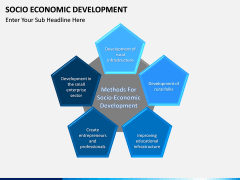 Socio economic development PPT slide 4