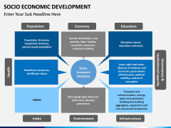 Socio economic development PPT slide 7