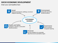 Socio economic development PPT slide 8