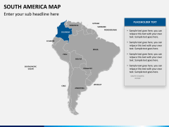 South america map PPT slide 11