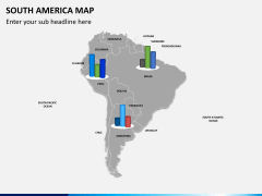 South america map PPT slide 18