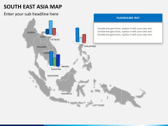 South East Asia Map PPT slide 10