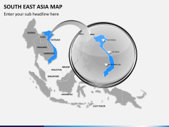 South East Asia Map PPT slide 16