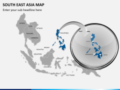 South East Asia Map PPT slide 18