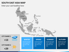 South East Asia Map PPT slide 21