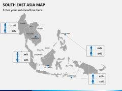 South East Asia Map PPT slide 22