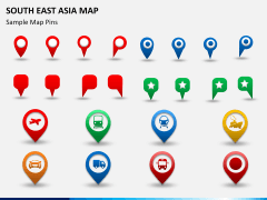 South East Asia Map PPT slide 23