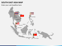 South East Asia Map PPT slide 6