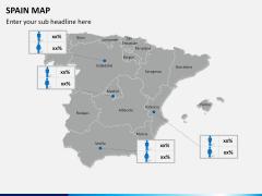 Spain map PPT slide 15