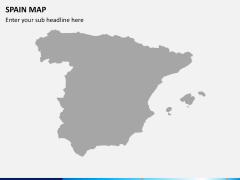 Spain map PPT slide 7