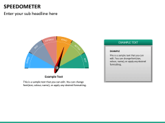 Speedometer PPT slide 25