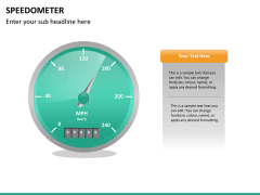 Speedometer PPT slide 15