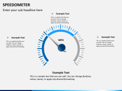 Speedometer PPT slide 10