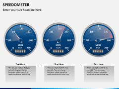 Speedometer PPT slide 3